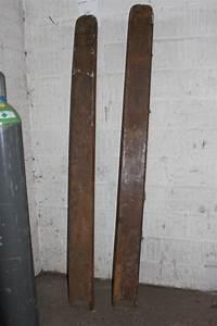 2 Mal 2 Meter Matratze : 2 stk forl ngergafler bredde p gafler indvendig m l 13 5 cm l ngde cirka 2 meter kj auktion ~ Markanthonyermac.com Haus und Dekorationen