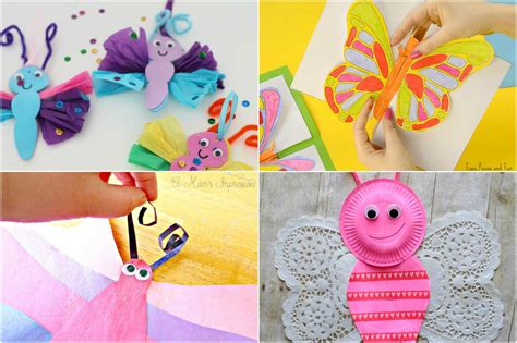easy butterfly craft ideas for easy diy crafts 265 | butterfly FB