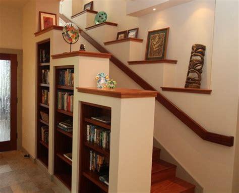 Entertainment Center Under Stairs