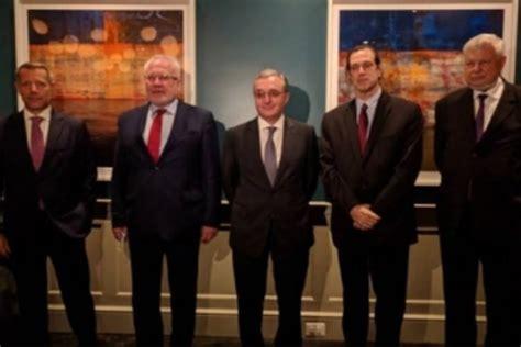 Armenian Foreign Minister meeting OSCE envoys on Oct. 30