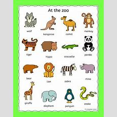 Zoo Animals Puzzles Pack For A Zoo Topic Or Efl Esl Eal By Llanguage Llamas