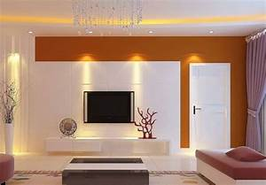 Tv wall ceiling lights ideas