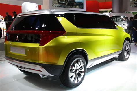 Mitsubishi Concept Ar Rear Quarter Indian Autos Blog