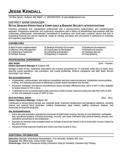 Teller Manager Resume by Banking Executive Manager Resume Template 113 Http Topresume Info 2014 10 29 Banking