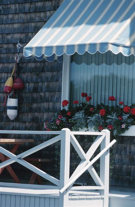 build    weather awning diy awning outdoor awnings window box flowers