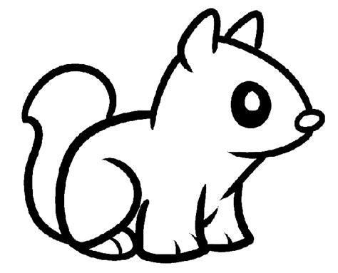 Squirrel Color Page Eskayalitim