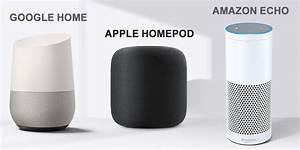 Google Home Oder Amazon Echo : amazon echo vs google home vs apple homepod autos post ~ Frokenaadalensverden.com Haus und Dekorationen