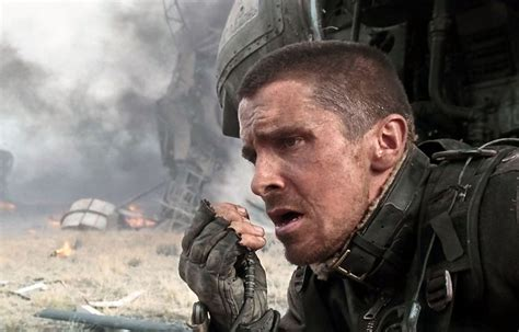 Christian Bale Photos Terminator Salvation Set
