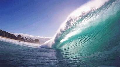 Without Discouragement Sense Any Ocean Wave Animated