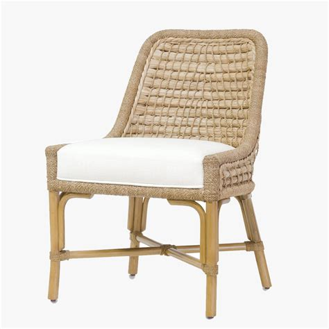 Capitola Rattan Side Chair  Shop Palecek Chairs  Dear Keaton
