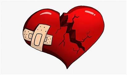 Broken Heart Cartoon Transparent Clipart Clip Netclipart