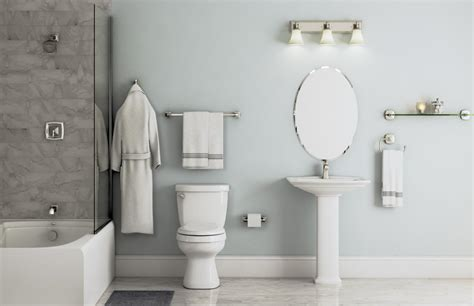 voss collection  brushed nickel bath  home depot