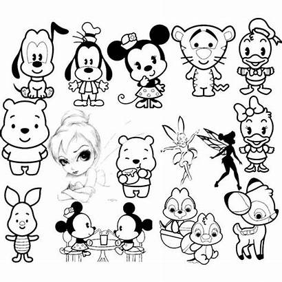 Disney Characters Drawing Coloring Pages Character Drawings