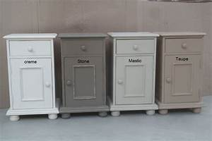 meubles taupe en pin massif With meuble peint couleur taupe