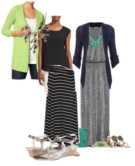 Four Ways to Wear a Maxi Skirt to the Office | Loop Looks