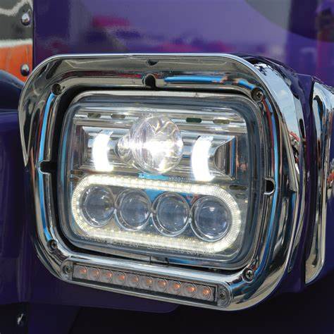 Led Headlights by 5 Quot X 7 Quot Low Voltage Led Projector Headlight Combination