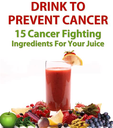 cancer fighting juice juicing ingredients health viralrang