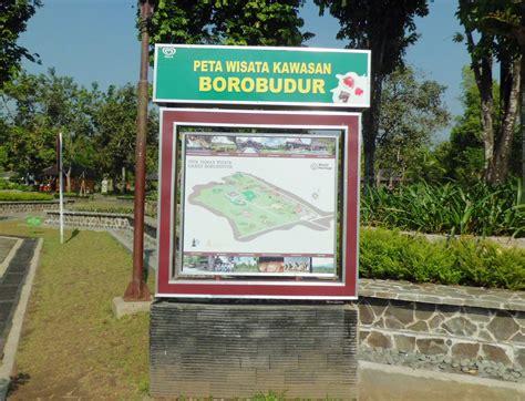 peta wisata candi borobudur peta wisata indonesia