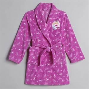 disney girl39s princesses fleece robe With robe disney princesse