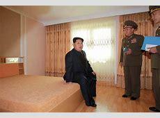 North Korea Kim Jongun opens atomshaped science and