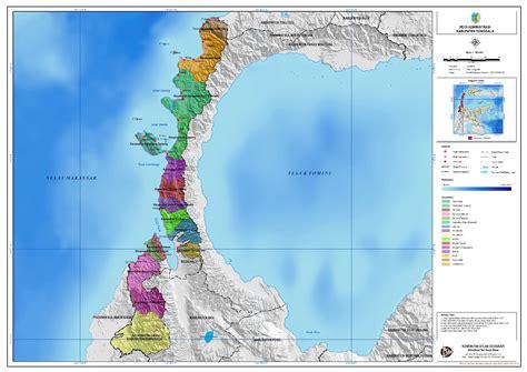 administrasi kabupaten donggala peta tematik indonesia
