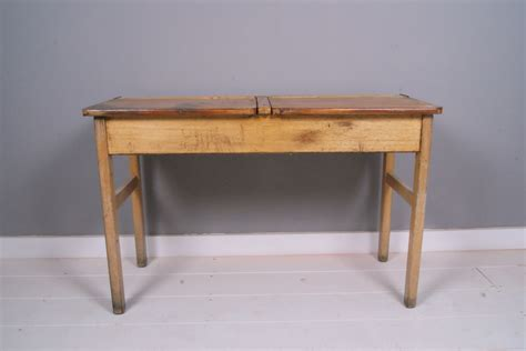 Children's Vintage Wooden Double School Desk  Blue Ticking. Fish Drawer Pulls. Folding Metal Table. Party Tables. Ikea Galant Desk For Sale. Secretary Desks Small. Farm Table With Bench And Chairs. Corner Computer Desk Glass. Partner Desk