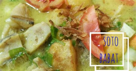 Lihat juga resep soto babat madura enak lainnya. Soto babat - 47 resep - Cookpad