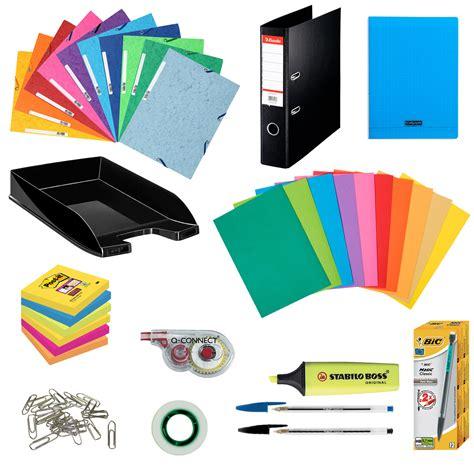 fourniture de bureau bordeaux pack fournitures office kits papeterie générique sur