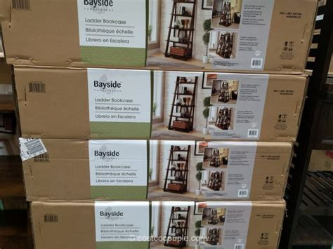 bayside furnishings ladder bookcase bayside furnishings ladder bookcase