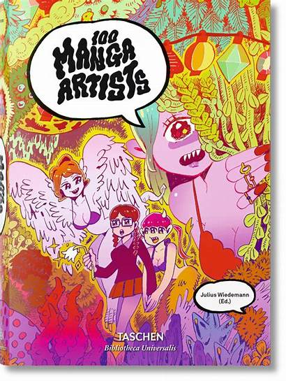 Manga Artists Taschen Graphic Books Comics Universalis