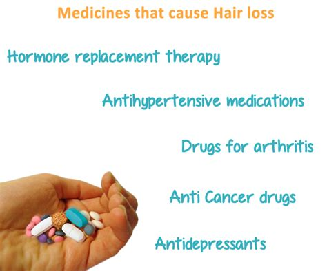 Cause Hair by Medicines That Cause Hair Loss