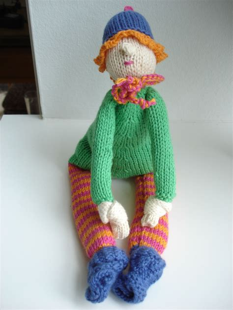 Annas doll   Dinosaur stuffed animal, Knitting, Dinosaur
