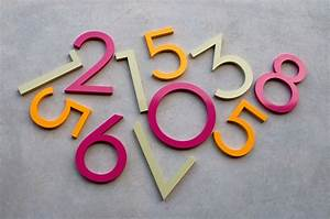 modern dwell house numbers With mid century modern house numbers and letters