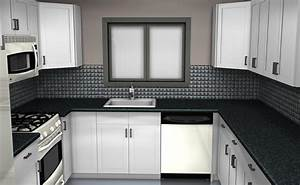 Have the black and white kitchen designs for your home for Black and white kitchen design pictures