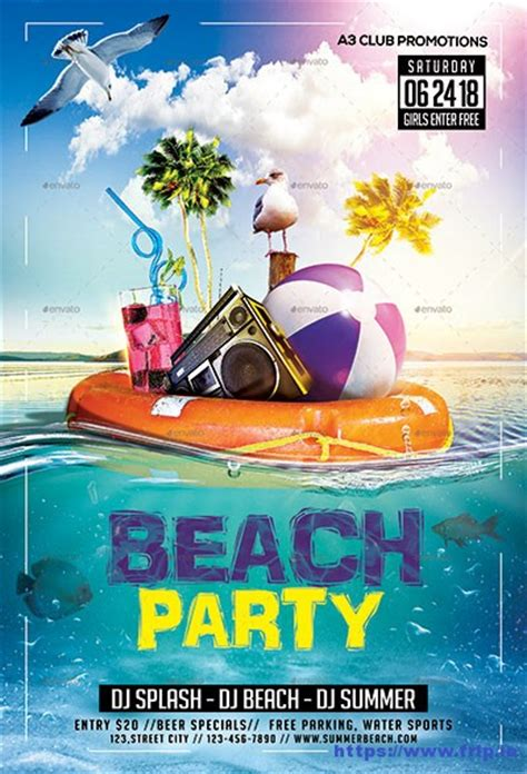 free summer c flyer template 70 best summer flyer print templates 2018 frip in