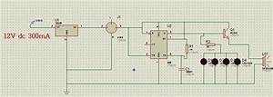 A  Circuit Diagram For The Gas Detector With Audible Alarm