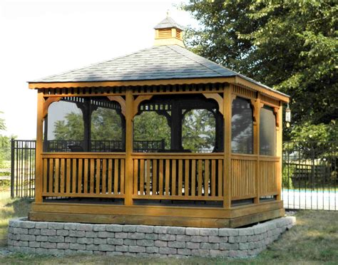 hton bay gazebo 12x12 screened gazebo 28 images 12x12 vinyl gazebo kit