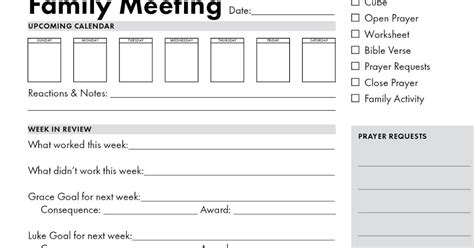 Family meeting agenda template   delightful to help my own weblog, in this particular time period i will tags: Team Grace Ellen: Family Meetings