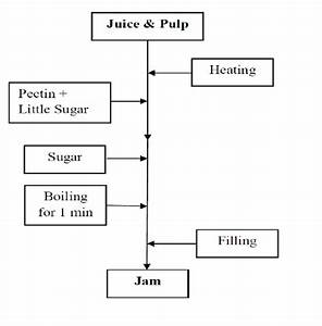 Flow Chart For Processing Jam From Marula