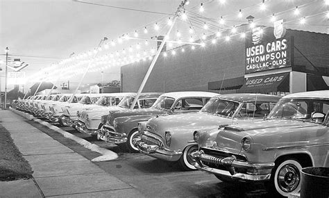 thompson cadillac olds  page hughes buick  cars