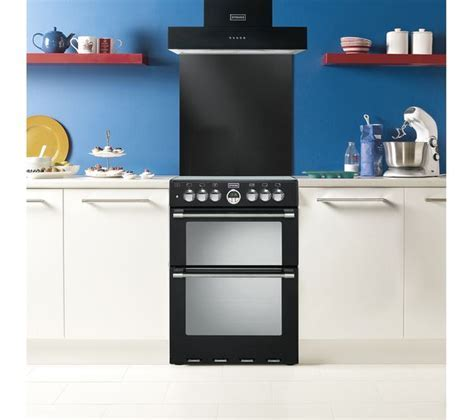 Buy STOVES Sterling 600DF Dual Fuel Cooker   Black   Free