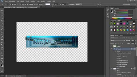 mit photoshop ein youtube kanalbild erstellen tutorial