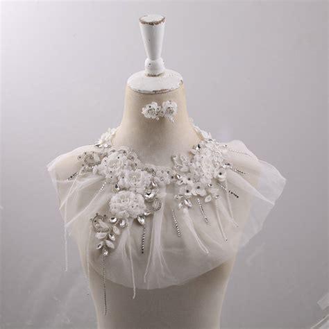 buy wholesale luxurious bride crystal lace flower wedding