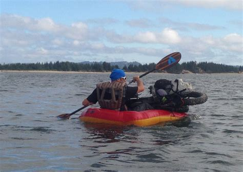 pack raft model weighs  ounces  put  full test