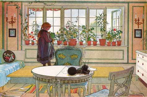 The Windowsill by Artists Carl Larsson Part 3