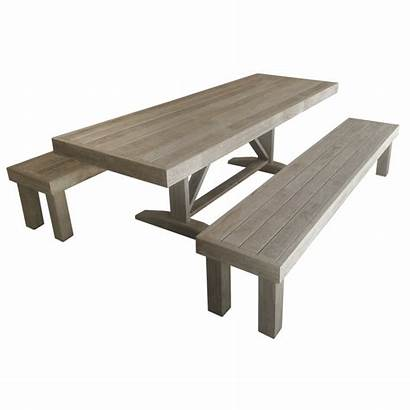 Table Outdoor Benches Formal Skinny Suit Bench