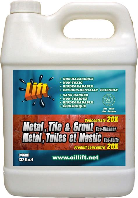 lift 948 ml industrial strength non toxic metal tile grout cleaner the home depot canada