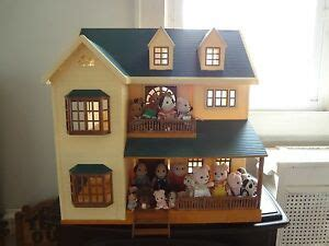 calico critters deluxe house calico critters lot and deluxe house check