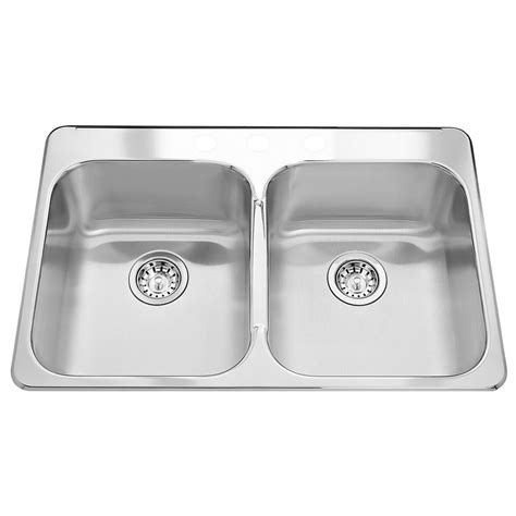 home depot deep sink wessan double bowl undermount sink 31 in x 18 in x 7