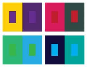 Simultaneous Color Contrast Art